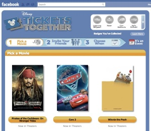 Disney partners with Fandango on Disney Tickets Together Facebook promo
